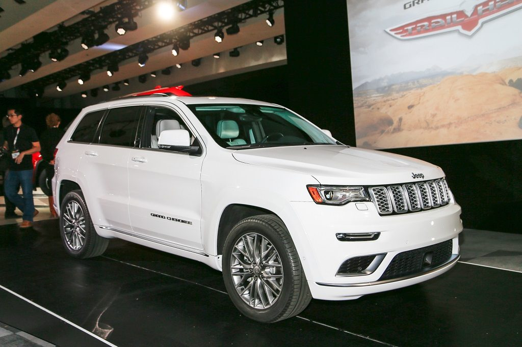 2017 Jeep Grand Cherokee Summit Paris